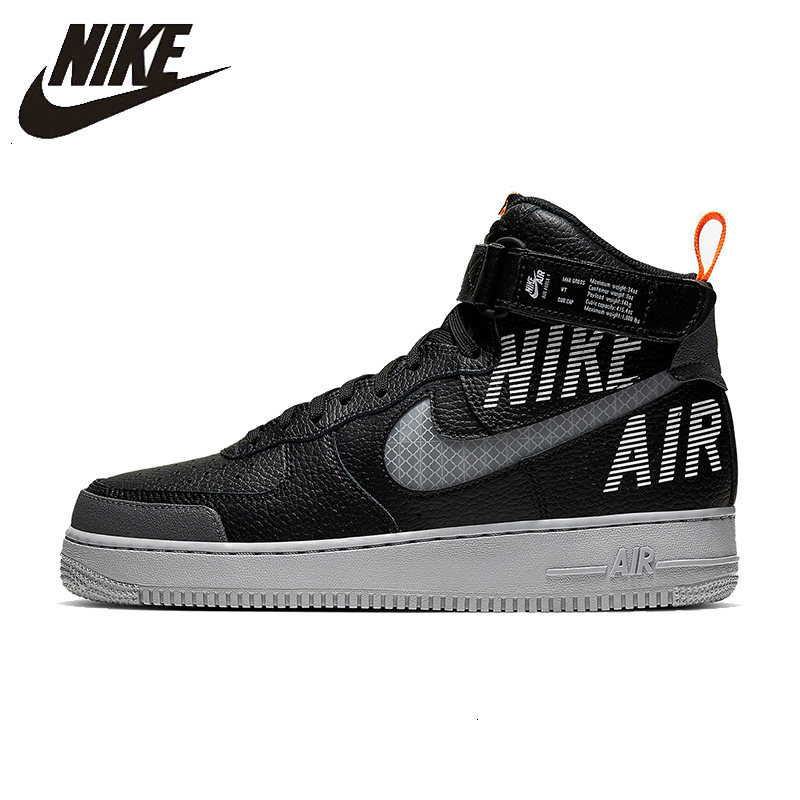 AIR 06 Comfortable on NIKE 1 HIGH ResistantCQ0449 FORCE New AF1 Men's 66OFF Sneakers Abrasion 2 '07 Arrival LV8 Basketball Shoes Sports US88 QCBxWoerEd