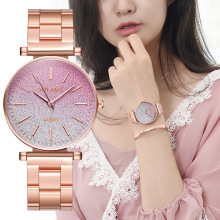 Relogio Feminino Women Watches Quartz Ladies Wrist Watch/Clock montre femme Women's Rose Gold Silver Wristwatch 2019 New