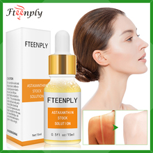 FTEENPLY Astaxanthin Serum Facial Whitening Moisturizing Hyaluronic Acid Essence Deep Repair Sunscreen Face Nourishing Skin Care