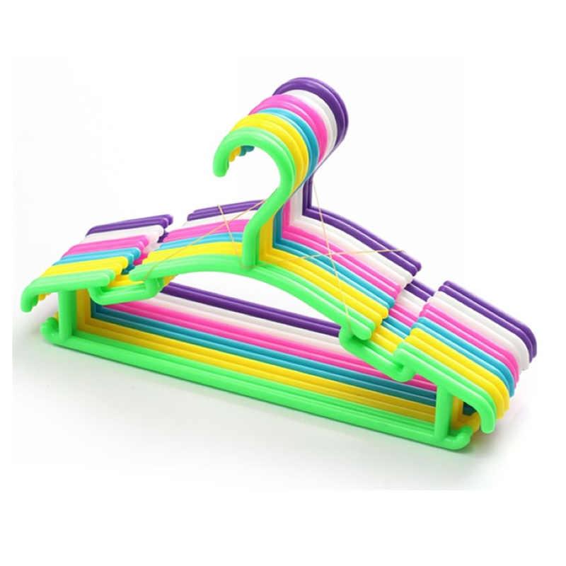 幼児洗濯乾燥ラック衣服オーガナイザー子供ミニ洋服ハンガー子供コートプラスチックフックハンガー 1Pc
