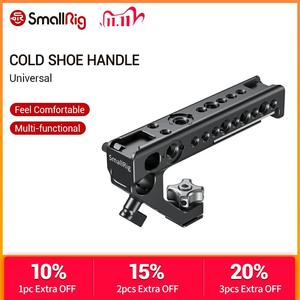 Image 1 - SmallRig Cold Shoe Adapter Handle To Mount DSLR Cameras and Cages With Thumb Screws +15 mm Rod Clamp Universal Handgrip  2094