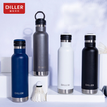 DILLER MLH8903  thermos double layer 304L stainless steel thermos thermos coffee tea milk travel large capacity kettle