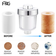 5 Micron Purifier Output Universal Shower Filter PP cotton Household Kitchen Faucets Purification Home Bathroom Accessories