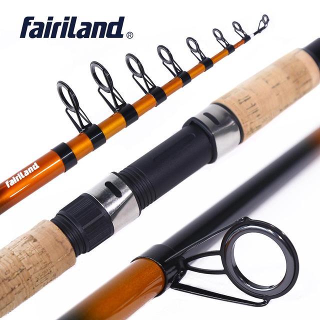 Fairiland Carbon Fiber Telescopic Fishing Rod 1