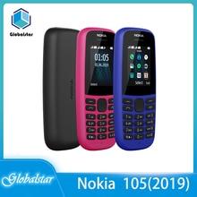 Nokia 105(2019) refurbished Original 105(2019) Dual Sim phone 2G GSM  800mAh Unlocked Cheap Celluar Phone