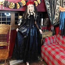 Halloween Dresses Long Ghost Bride Witch Vampire Suit Masquerade Cosplay Clothing Gothic Female Costumes For Women