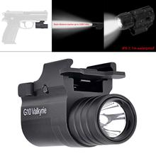G10 Hunting Gun light 230LM XP-G2 LED Light Lamp Torch Light Flashlight 2100cd with 2 Modes for Hunting Lighting Camping Riding waterproof g03 xp g r5 led 210lm handheld military weapon lights pistol torch light tactical flashlight with 2 modes light