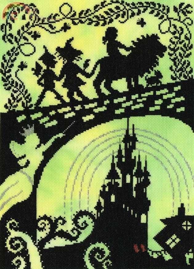 G Мышь Аватар Счетный крест Набор для вышивания крестиком RS из хлопка с вышивкой крестиком DW 2731 шить с персонажами мультфильма «Волшебник страны Оз» Упаковка      АлиЭкспресс
