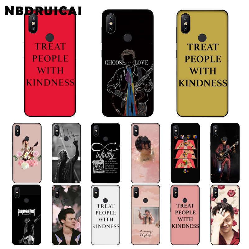 NBDRUICAI ハリースタイル治療人と親切電話ケース xiaomi 8 9 se 5X Redmi 6pro 6A 4 × 7 5 プラス注 5 7 6pro