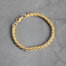 2020 New Stainless Steel Plated Gold Keel Chain Bracelet Fashion Jewelry For Women and