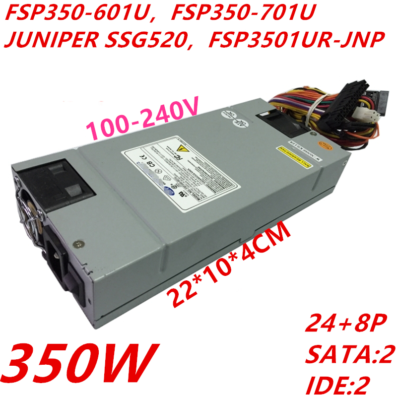 New PSU For FSP -5V PFC Standard 1U 350W Power Supply FSP350-601U FSP350-701U JUNIPER SSG520 FSP3501UR-JNP