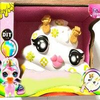 Eaki переиздание Poopsie Slime Unicorn verrasing Eenhoorn Kak Shakes Slime Blind Doos spelgoed diy ремесла для детей игрушки