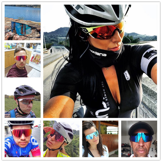 NRC de marca Esportes Ao Ar Livre Óculos de Ciclismo Mountain Bike Ciclismo Goggles UV400 Fotocromáticas Homens Ciclismo Óculos De Sol Eyewear Unisex 2