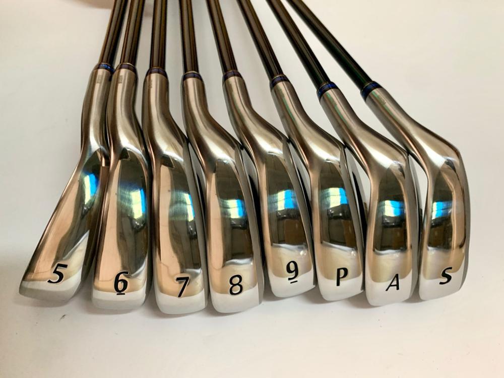 BIRDIEMaKe Golf Clubs MP1100 Irons MP1100 Golf Iron Set 5-9PAS R/S/SR Flex Shaft With Head Cover 1