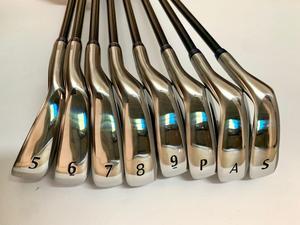 BIRDIEMaKe Golf Clubs MP1100 Irons MP1100 Golf Iron Set 5-9PAS R/S/SR Flex Shaft With Head Cover
