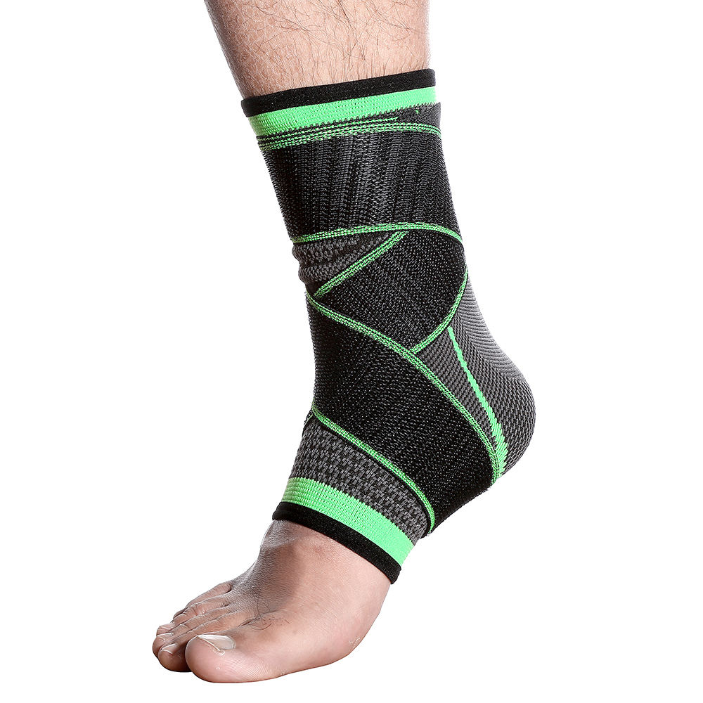 Knitted Pressure Wrist Ankle Protector Running Basketball Mountaineering Sports Gear Unisex