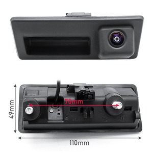 Image 2 - HD AHD 1080P 170 Grad Fisheye Objektiv Auto Hintere Ansicht rückseite Stamm Griff Kamera Für VW Passat Golf polo Jetta Audi A4 A6