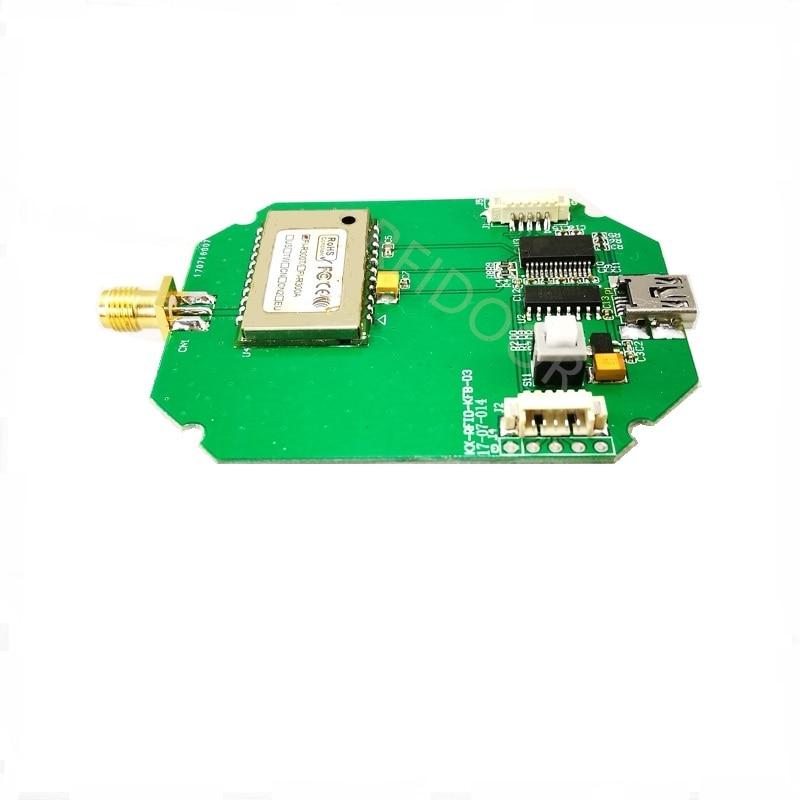 UHF RFID RFID Remote Reader Module Supports USB/232/UART Development Board Test Board