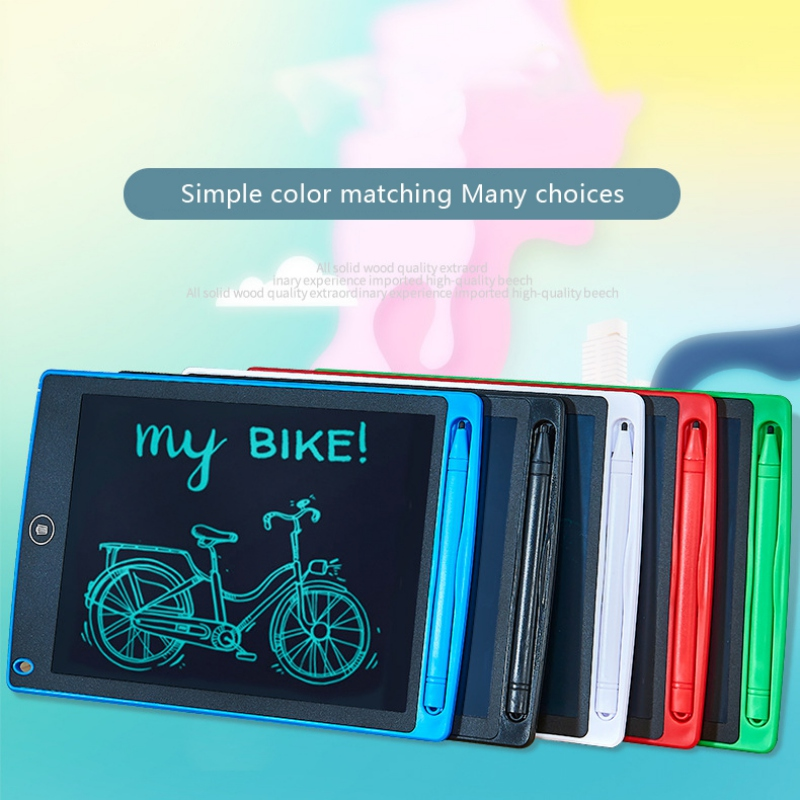 Adult Baby Educational Toys Portable Smart Electronic LCD Writing Tablet Notepad Drawing Graphics Handwriting Pad Board