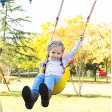 Children Outdoor Garden Tree Swing Rope Seat For Kids Color EVA Soft Board U-shaped Swing Kindergarten Playground Swing cheap CN(Origin) 0-36 Months 200KG Bouncers Jumpers Swings Plastic 0652101 Solid