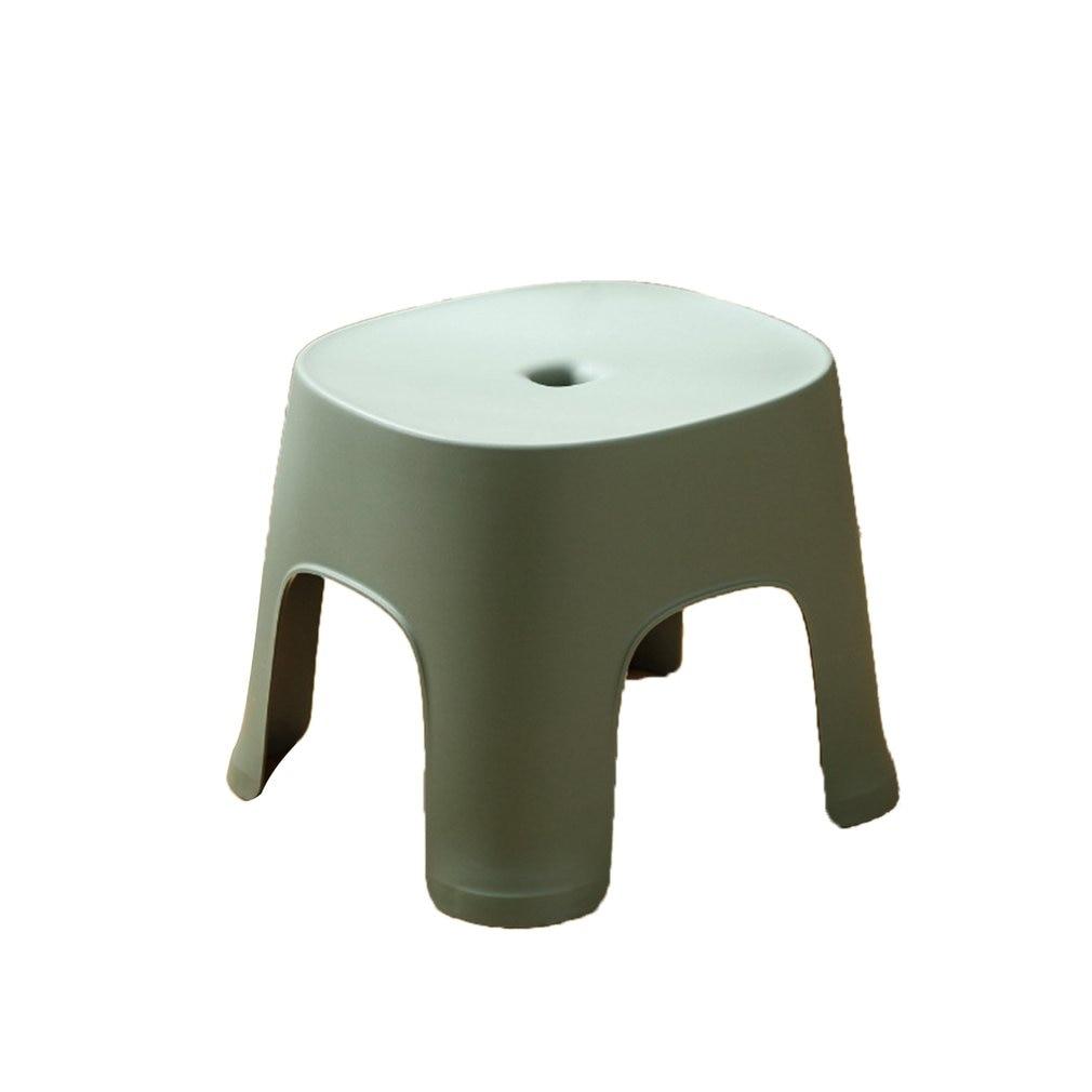 Bathroom Row Bench Stool Household Bathroom Stool Plastic Stool Thicken Non-slip Shoe Bench Child Stool Foot Bench