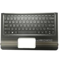 New Original For HP Pavilion x360 Convertible 11 U M1 U Palmrest Upper Case Keyboard Bezel Cover US 856175 001