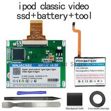 Nouveau SSD 80G 120G 240G 256G 512G, pour Ipod classique 7ème génération, vidéo, remplacement MK3008GAH MK8010GAH MK1634GAL, outil gratuit
