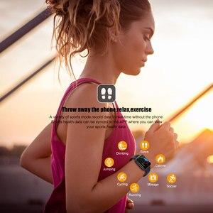 Image 5 - PEACHFIT Y2 Đồng Hồ Thông Minh Đo Nhịp Tim Huyết Áp Suất Vòng Tay Thể Thao Đồng Hồ Nam Nữ Đồng Hồ Thông Minh Smartwatch PK B57 P80 IWO 8 9 10 11