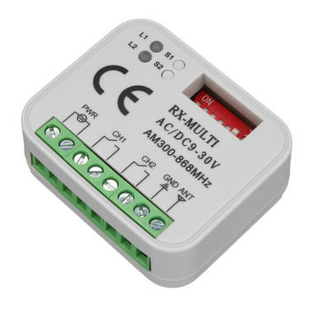Sommer compatible receiver for Sommer remote controls / 2-ch 868,8Mhz 9-30V w sommer string trio no 2 op 5