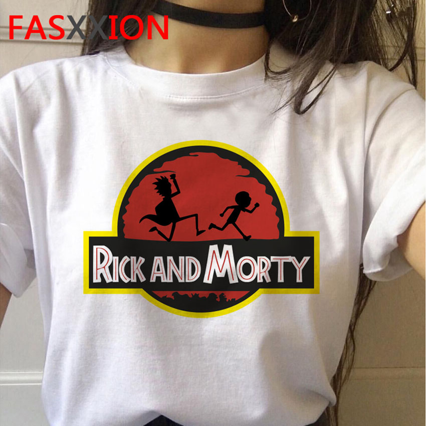 New Rick And Morty T Shirt Men Science Anime Funny T-shirt Rick & Morty Season 4 Tshirts Female Tops Graphic Tees Male