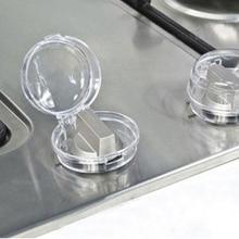 Knob Transparent Stove for Household Kitchen Convenient-Part Child-Protection