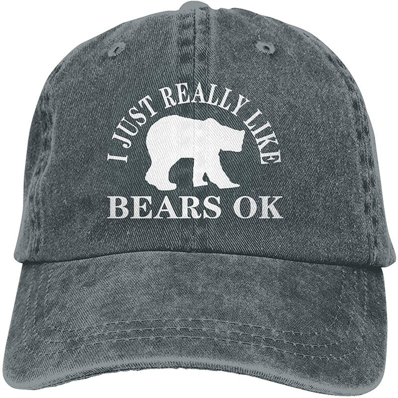 Я просто очень люблю спортивную джинсовую кепку «Медведи», регулируемая бейсбольная ковбойская Кепка унисекс