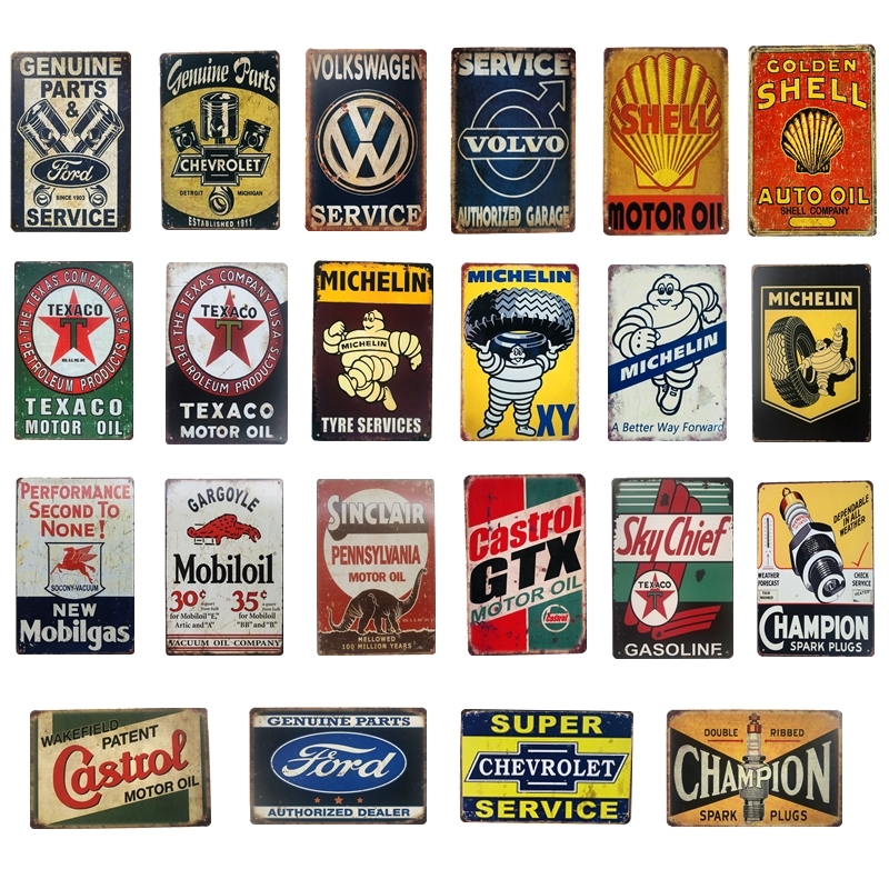 SCANIA AUTHORIZED GARAGE  METAL TIN SIGN POSTER WALL PLAQUE