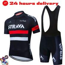 2021 conjuntos de roupas de bicicleta dos homens ciclismo verão pro equipe strava estrada da bicicleta manga curta mtb conjunto camisa do esporte