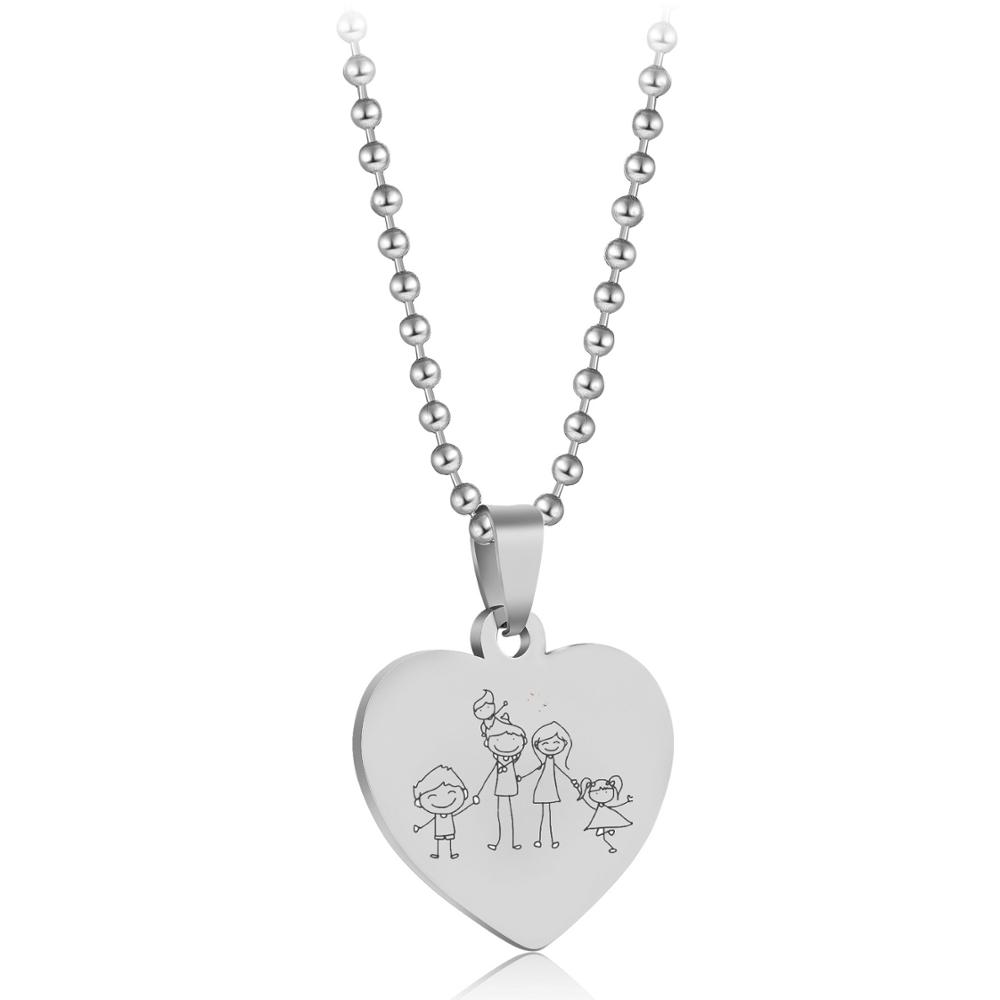 Love My Dalmatian v2 Luxury Dog Tag Necklace Lover Owner Mom Dad Gifts