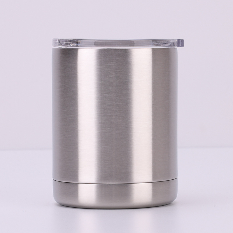 10oz double-layer stainless steel outdoor mugs 304 stretched seamless liner