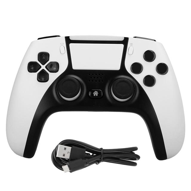 بلوتوث أداة تحكم في الألعاب لاسلكية ل PS4 وحدة التحكم ل PS5 نمط مزدوج الاهتزاز لعبة غمبد للكمبيوتر/أندرويد الهاتف لعبة غمبد