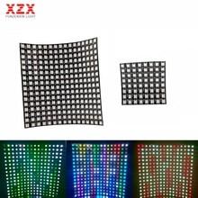 Écran de panneau numérique Led WS2812B, Flexible 256 Pixels, WS2812 50smd RGB, 8x8/16x16 Pixels, DC5V