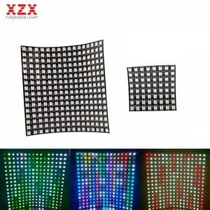 WS2812B Led Panel Screen Digital Matrix Flexible 256 Pixels WS2812 5050SMD RGB Individually Addressable 8*8/16*16 DC5V