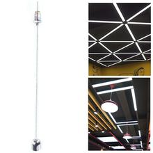 4 шт./компл. 1 м, стальные провода и винты, комплект крепежных проводов для подвески, веревка, светодиодные регулируемые светильники для потол...