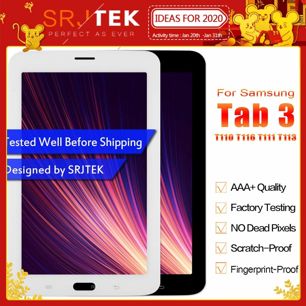 For Samsung Galaxy Tab 3 SM-T110 SM-T111 SM-T113 SM-T116 SM-T114 LCD Display Touch Screen T110 T111 T113 T116 T114 Assembly