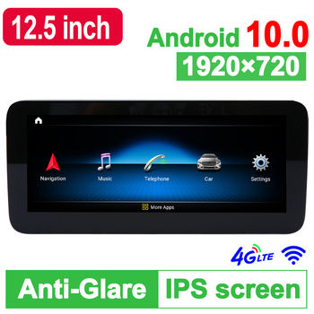 Android 10.0 System 10.25 inch 64G ROM Car GPS Navigation Media Stereo Radio For Mercedes-Benz C W204 2011 2012 2013 2014 D-1208 image