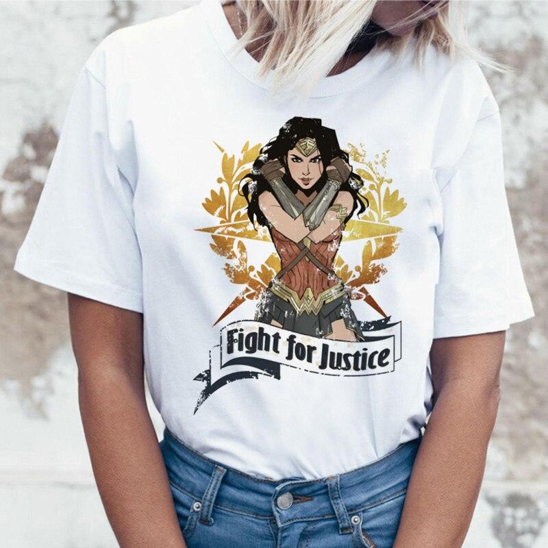 Футболка женская с круглым вырезом, уличная одежда в стиле чудо-ольччан, повседневный Топ в стиле Харадзюку, в стиле хип-хоп, y2k, на лето