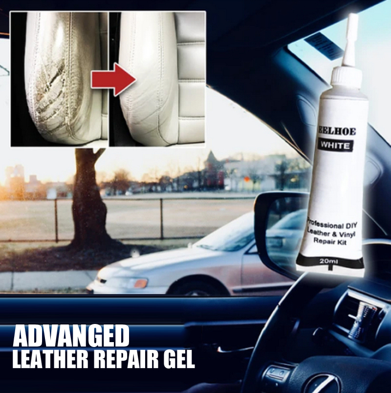20ml Car Seat Leather Repair Agent Vinyl Repair Kit Car Instrument Panels Sofas Coats Repair Cream Advanced Leather Repair Gel