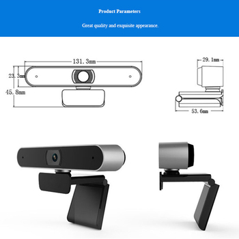 Web cam 1080P USB Digital Full HD Video Camera Auto Focusing Webcam Meeting Video with Microphone Video Call Computer Mini cam 5