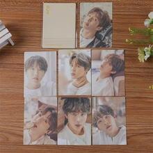 Kpop bangtan boys выставка lomo card двусторонние открытки jung