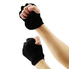 1 пара безграничных черных спортивных перчаток для тяжелой атлетики и фитнеса Лидер продаж