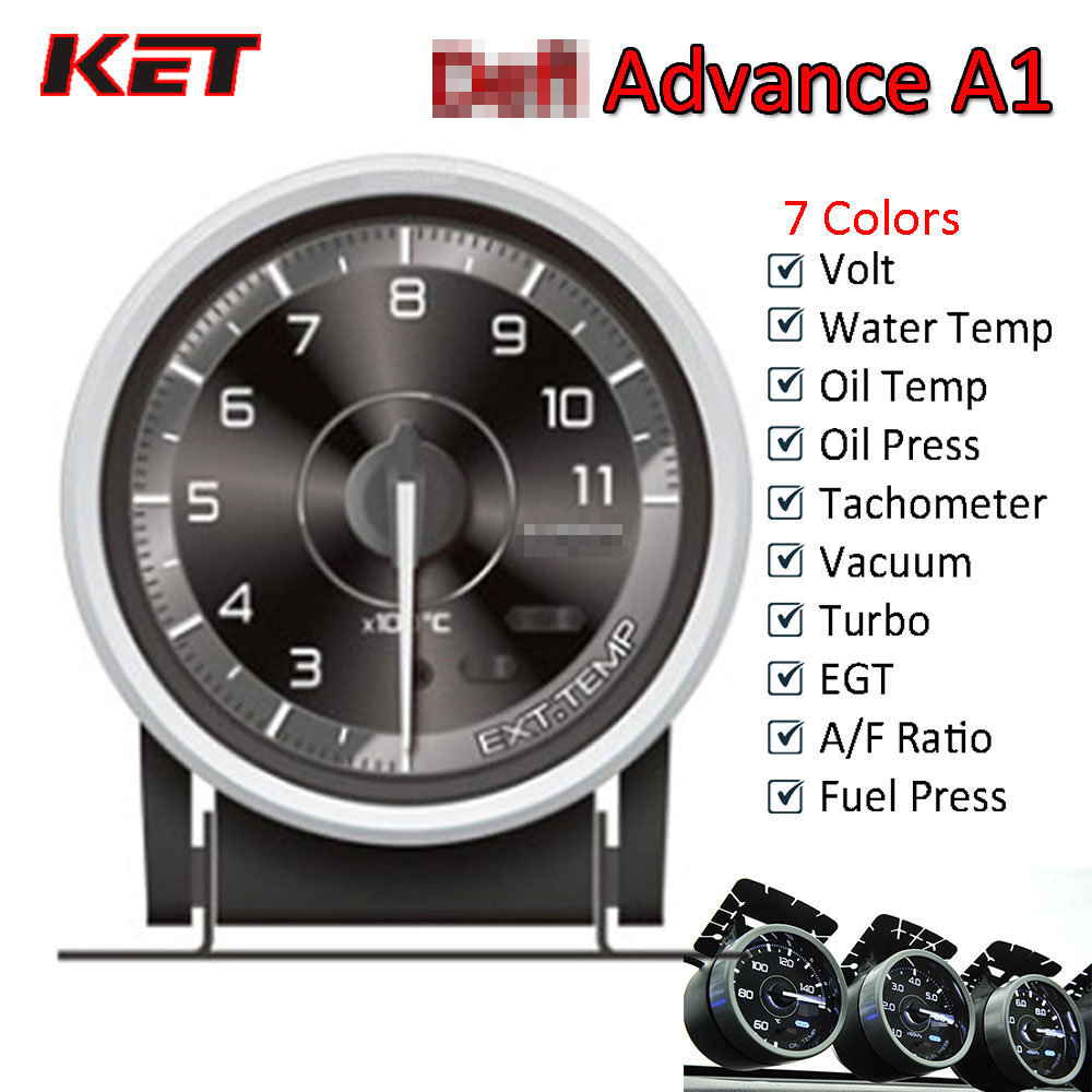 Defi-Gauge Turbo-Boost-Gauge Oil-Temp 60mm Ext A1