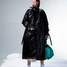 [11.11] 2019 Winter New Collection long oversized trench type white duck down