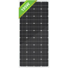 ECO-WORTHY 100W 120W 150W 195W Mono Solar Panel High Efficiency for RV Home Marine